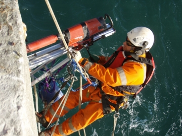Cables Installation Diamond Drilling
