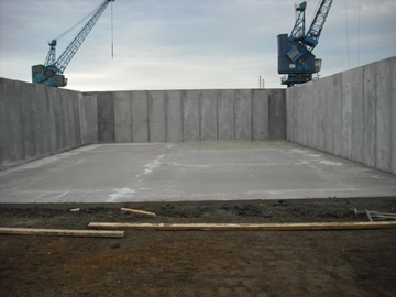 Retaining Wall Structures - Cast In