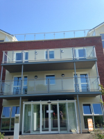 Balconies With Glass Balustrade