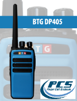 BTG DP405 Two Way Radios