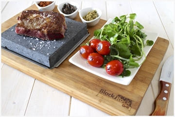 Bamboo Steak On The Stone Premium By Black Rock Grill