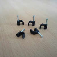 Cable Clips Grey/Black