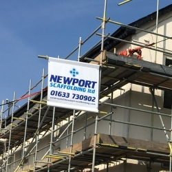 Standard Sized Scaffold Banners