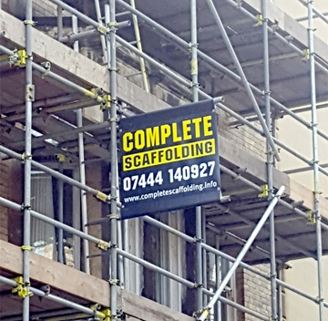 Full Colour Scaffold Banners