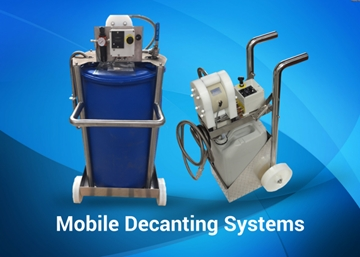 Mobile Decanting Pump Systems For Easy Movement