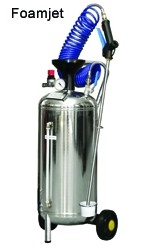 Chemical Sprayers for Washing and Waxing Vehicles