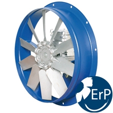 Long Cased Smoke Extraction Axial Fans