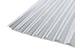Corrugated metal roofing sheets - colour-coated & plain galvanised