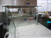 Commercial Bespoke Display Cabinets