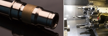 Precision Turning Services For Aerospace Components
