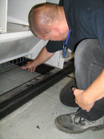 Flood Damage Repairs to Roller Cabinets