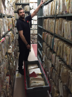 Relocate Hospital Medical Records Rolling Racks