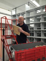 Relocate Office Roller Shelving
