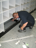 Service Office Roller Racking