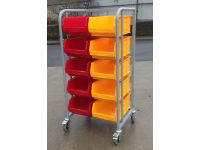 Warehouse Small Parts Picking Trolley
