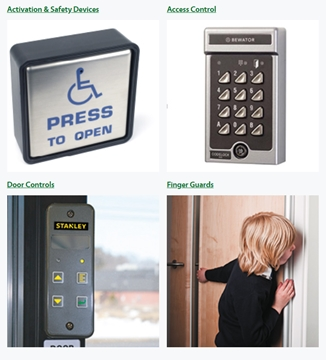Automatic Door Controls And Accessories