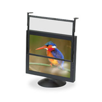 """3M Executive Filter Black Frame Over the Bezel 15"""" 17"""" 18"""" and 20"""" LCD"""