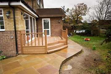 Decking Hither Green