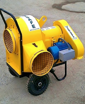 Hire Centrifugal Blower & Extractor Fan