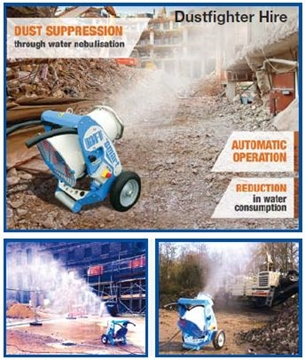 Hire Dust Fighter DF Smart Water Misting Cannon