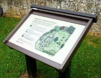 Lectern Style Notice Boards