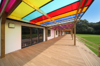 Colourful Canopy Coverings