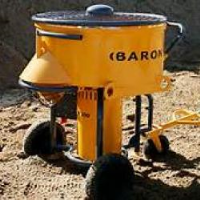 Hire Forced Action Mixer 10 Bag Baron M300 - Min 2 Week Hire