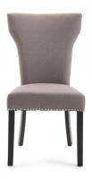 Achilles Grey Greek Print Fabr+A1:A823ic Dining Chair
