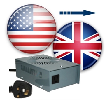 US to UK voltage converters (230 to 120v converters)