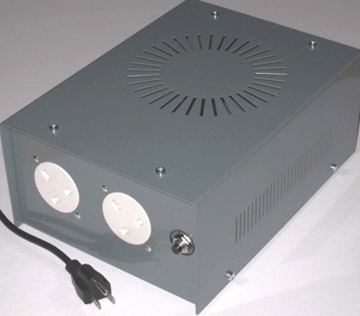 US-UK1000- Voltage Convertor with Two Socket