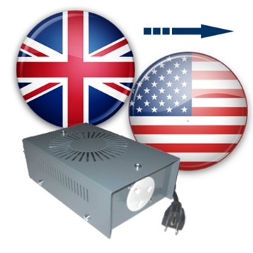 UK to US voltage converters (120 to 230v converters)
