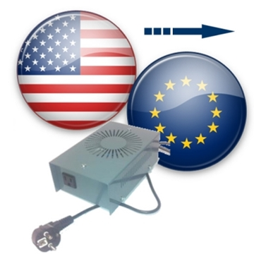 US to Europe voltage converters (230 to 120v converters)