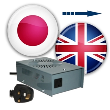 Japan to UK voltage converters (230 to 100v converters)