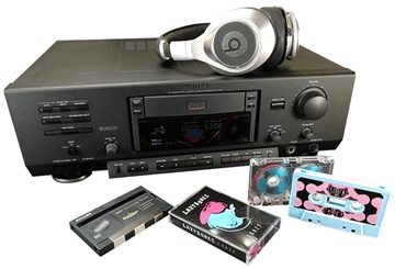 Cassette Tape Duplication from DCC