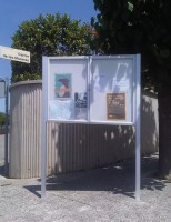 Post Mounted Notice Boards