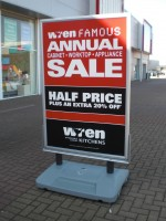 Large Poster Forecourt Signs