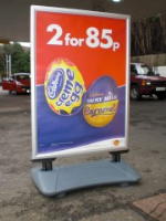 Garage Forecourt Promotional Signs