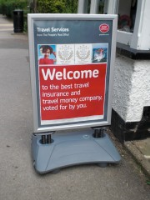 High Quality Windproof Pavement Signs