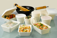 Microwave Safe Recyclable Food Containers For Take Aways