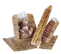 High Quality Film Front Paper Bags For Bakeries