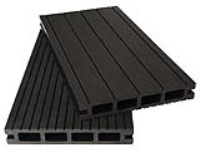 Dark Grey Composite Decking Boards