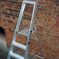 Industrial Professional Platform Step Ladders