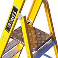 Fibreglass Platform Step Ladders