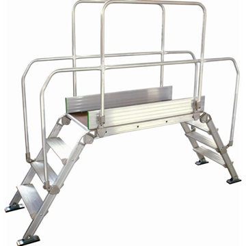 Industrial Work Platform Bridging Steps