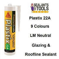 Sika Plastix 22A Premium Glazing and Roofline Silicone Sealant Chartwell Green