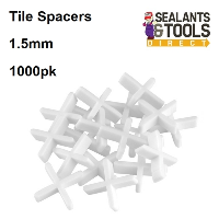 1.5mm Ceramic Wall and Floor Tile Spacers 1000pk 327569