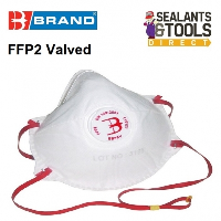 B Brand P2 Disposable Valved Safety Face Mask Dust and Fume FFP2