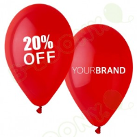 Printed Latex Balloons For Retail Stores