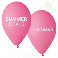 Summer Deals Printed Latex Balloons For Car Dealerships