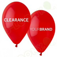 Bespoke Clearance Printed Latex Balloons In High Wycombe